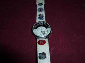 Relógio Infantil Hello Kitty - Funcionando - Promoção!!!!