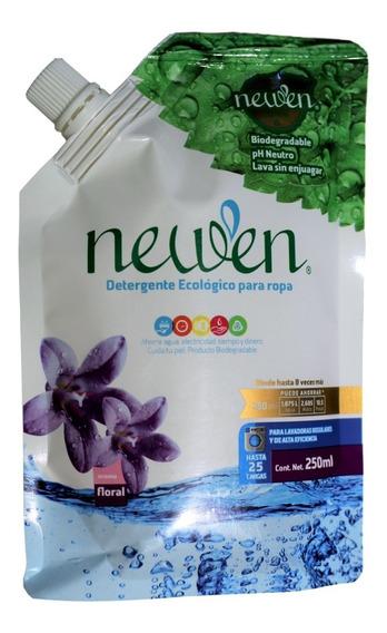 Detergente Biodegradable Sin Enjuague Ropa Newen + Medidor