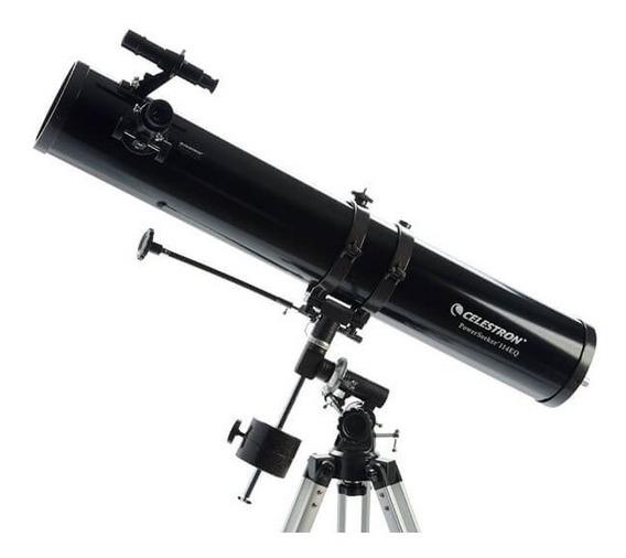 Telescópio Refletor Powerseeker 114eq Celestron Original