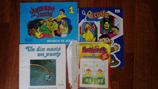 4 Libritos Infantiles De Pasatiempos