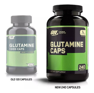 Glutamina Optimum Nutrition 1000 Mg 240 Cápsulas