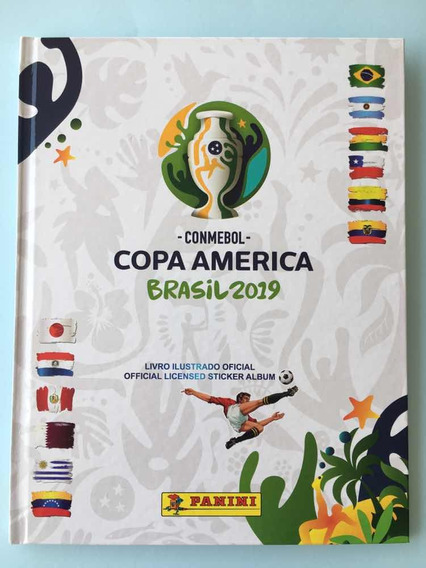 Copa América 2019, Álbum Capa Dura Completo Com Frete Grátis