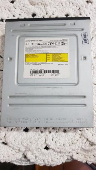 Drive Cd Rom Samsung Sh-r522 Usada Em Funcionamento!