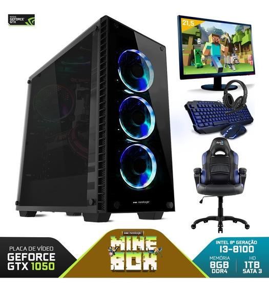 Pc Gamer Completo Neologic 81004 I3-8100 8gb (gtx 1050)1tb