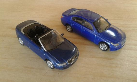 Bmw 5 Series E Audi A4 Cabrio 1:64 Conversível Hig Speed Higspeed Lote Imk1