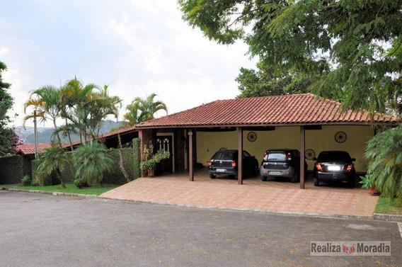 Casa Térrea 03 Dormitórios E 03 Suítes - Dom Henrique Ll - Granja Viana - Ca1194
