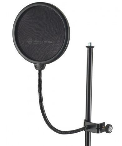Pantalla De Estudio Microfono Condenser Konig & Meyer 30700