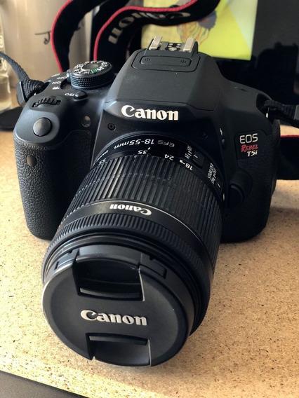 Mercado Livre Câmera Canon T5i Lente 18-135mm (sem Uso)