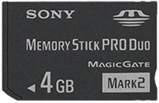 Sony 4 Gb Memoria Palo Produo Msmt4g Tq1 Negro