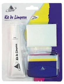 Kit De Limpeza E Proteção Para Cd´s E Dvd