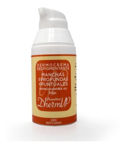 Crema Despigmentante Hidroquinona 6% Manchas Profundas