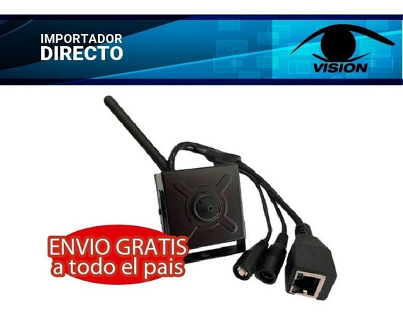 Mini Camara Oculta Pinhole Espia Ip Wifi 960p 3.7mm 1.3mp