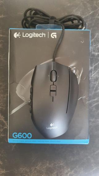 Mouse Logitech G600 Mmo Rgb Usb 8.200dpi