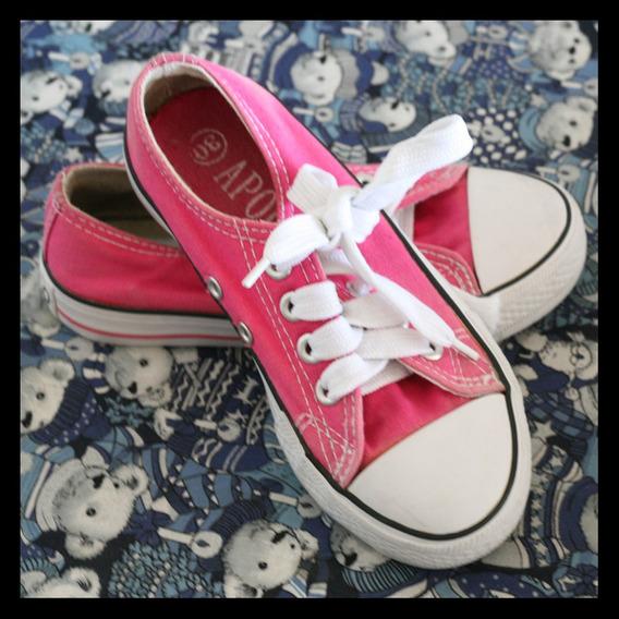 Zapatos Deportivos Apolo Numero 30 Rosado