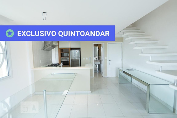 Apartamento No 3º Andar Mobiliado Com 1 Dormitório E 2 Garagens - Id: 892973492 - 273492