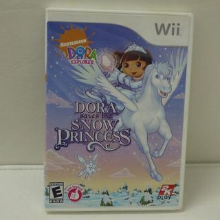 Jogo Dora Saves The Snow Princess - Nintendo Wii