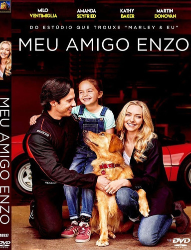 Dvd Meu Amigo Enzo - Dublado E Legendado | Mercado Livre