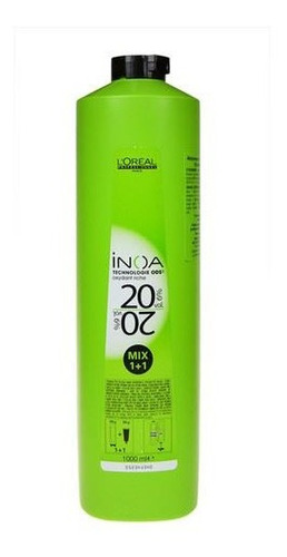 Oxidante Inoa 20 Vol 1 Lt. Profesional