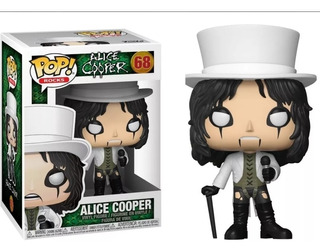 Alice Cooper 68 Colección Pop Rocks Funko