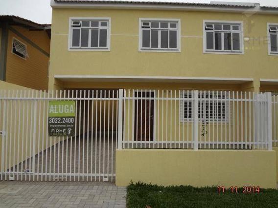 Sobrado Com 3 Dormitórios Para Alugar Por R$ 1.750/mês - Novo Mundo - Curitiba/pr - So0222