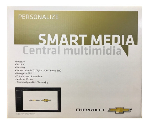 Central Multimidia + Camera De Ré Onix 13/19 - 52152167
