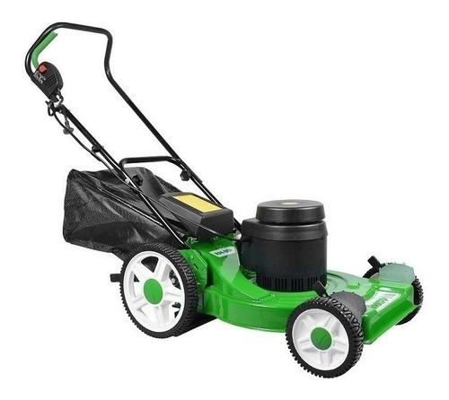 Cortador de grama elétrico Trapp RM 80E com cesto recolhedor 2500W verde e preto 220V