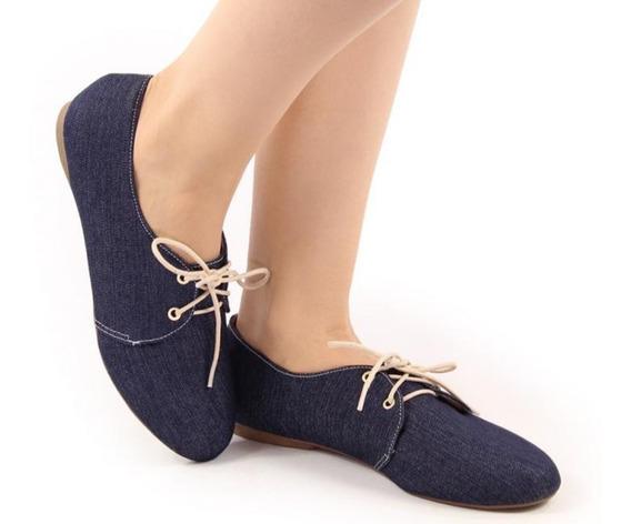 Tênis Sapato Oxford Feminino. A Pronta Entrega