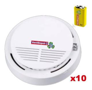 Detectores De Humos Bachilleratos, Mxskx-003, 120db, 10pzs