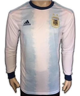 Jersey Argentina Copa America 2019 Local Manga Larga
