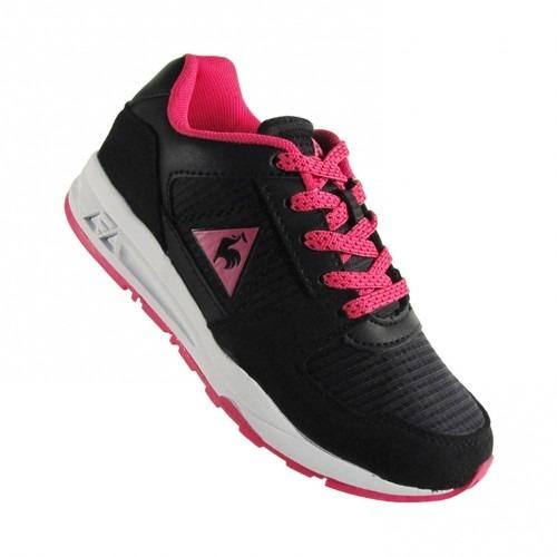 Zapatillas Le Coq Sportif Niñas R300 Jr Black Pink