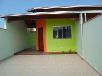 Belíssima Casa Nova Em Itanhaém, Em Bairro De Moradores!!!!