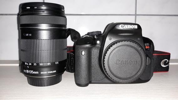 Camera Canon Eos Rebel T4i + Lente 18-135mm