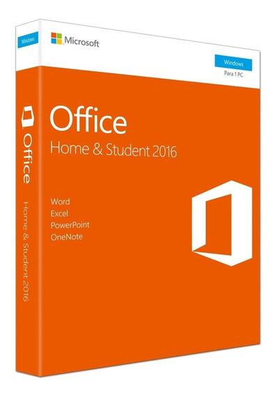 Microsoft Office Home & Student 2016 Braz Fpp 79g-04766