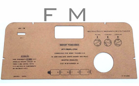Tampa Traseira Rádio Semp Pt-76 Fm