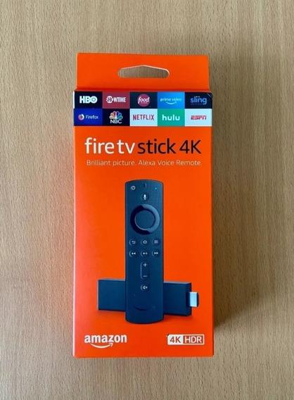 Amazon Fire Stick Tv 4k Nuevo Sellado Somos Tienda Virtual
