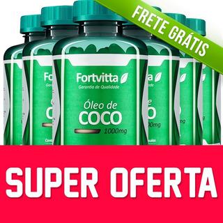 6 - Óleo De Coco Fortvitta Emagrecedor / Super Oferta