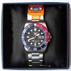 Relógio Seiko 5 Sports Snzf15 Snzf15j1 Pepsi Made In Japan!