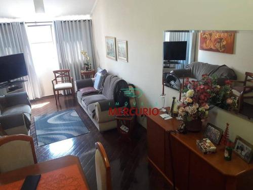 Apartamento Com 3 Dormitórios À Venda, 136 M² Por R$ 500.000,00 - Vila Aviação - Bauru/sp - Ap3050