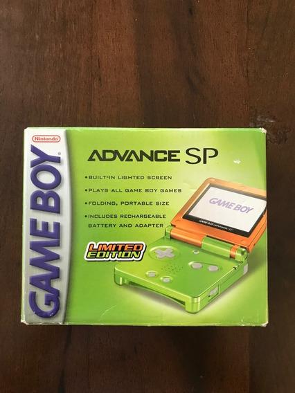 Novo - Nintendo Gameboy Advance Sp - Frete Grátis