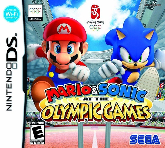 Mario & Sonic - At The Olympic Games Ds Nfe