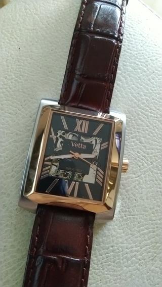 Relógio Vetta Classico Aço/dourado