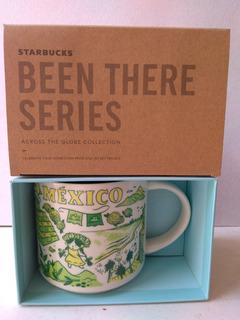 Taza Starbucks City Mug México País 14 Oz Been There Series