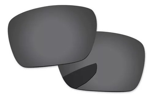 Lente Black Preta Polarizada P/ Oakley Mainlink Oo9264