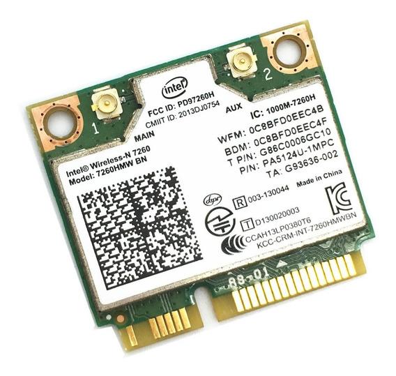 Placa Intel Wireless-n 7260hmw Bn 300 Mb/s Bluetooth 4.0