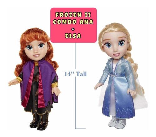 Frozen 2 Combo Anna+elsa Originales Importadas Muñecas 40cm