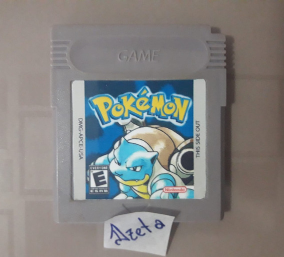 Pokémon Blue Para Gameboy E Game Boy Collor