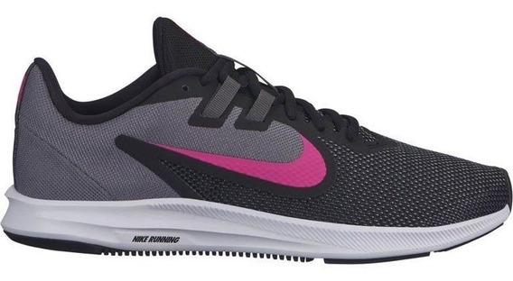 Tenis Nike Downshifter 9 Preto/rosa