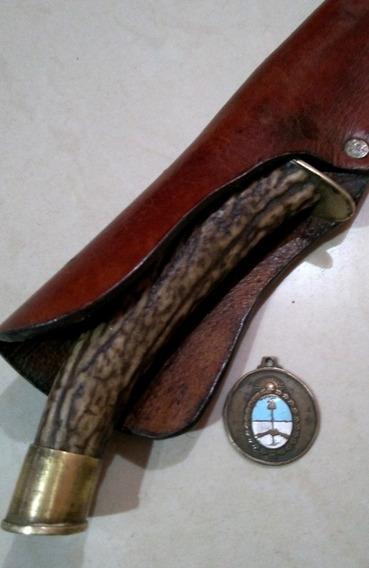 Antiguo Cuchillo Criollo. Facón Acero Carbono. Daga. Bayonet