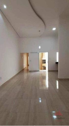 Imagem 1 de 10 de Casa Com 2 Dormitórios À Venda, 110 M² Por R$ 330.000,00 - Jardim São Camilo - Santa Bárbara D'oeste/sp - Ca2550