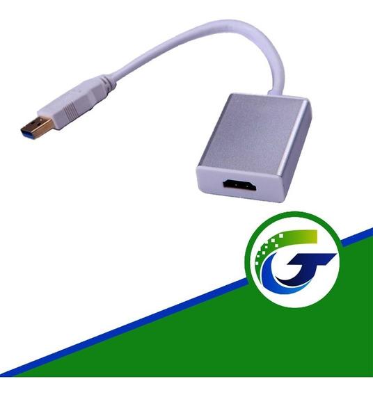 Convertidor Usb A Hdmi (laptop-pc) A Tv Hdmi 3.0 Y 2.0 Nuevo